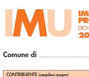 Dichiarazione IMU con scadenza al 4 febbraio