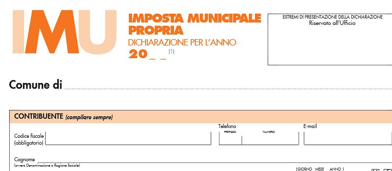 4 febbraio scadenza per la dichiarazione IMU