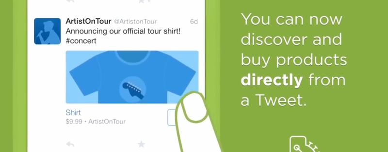 Twitter sperimenta il tasto 'buy' (solo per pochi però)