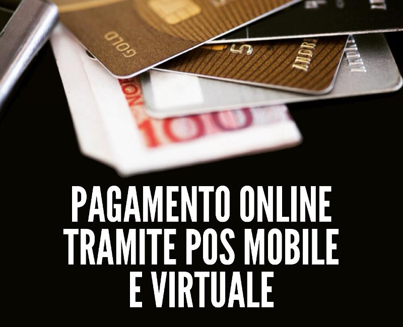 Pagamento online tramite POS mobile e virtuale