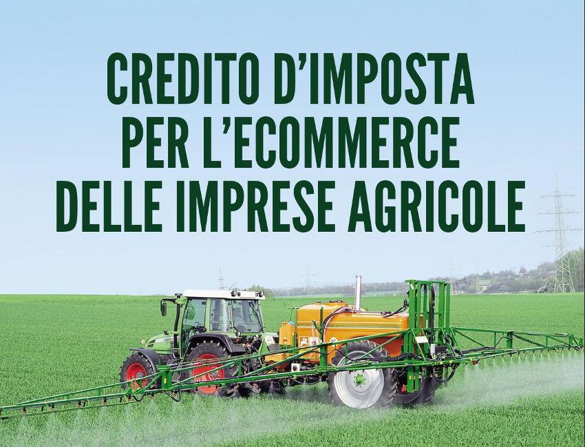 Credito d'imposta per l'ecommerce del settore agricolo