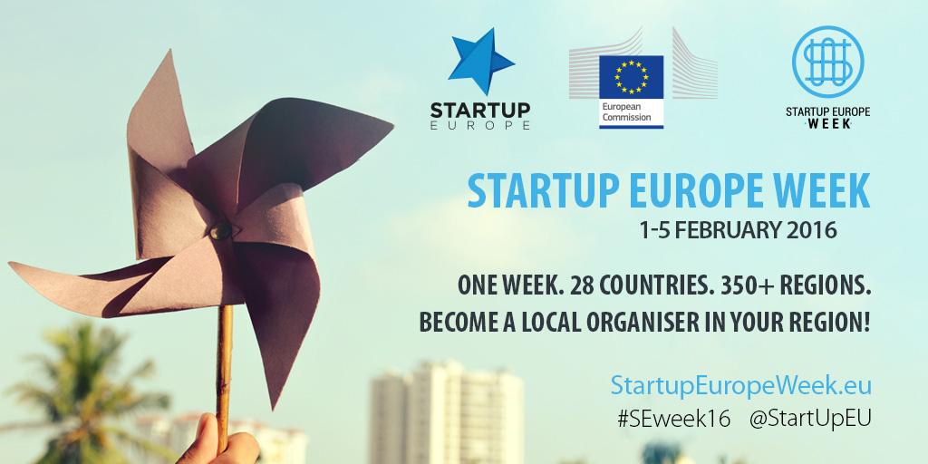 Startup Europe Week, l'evento per le PMI e non solo