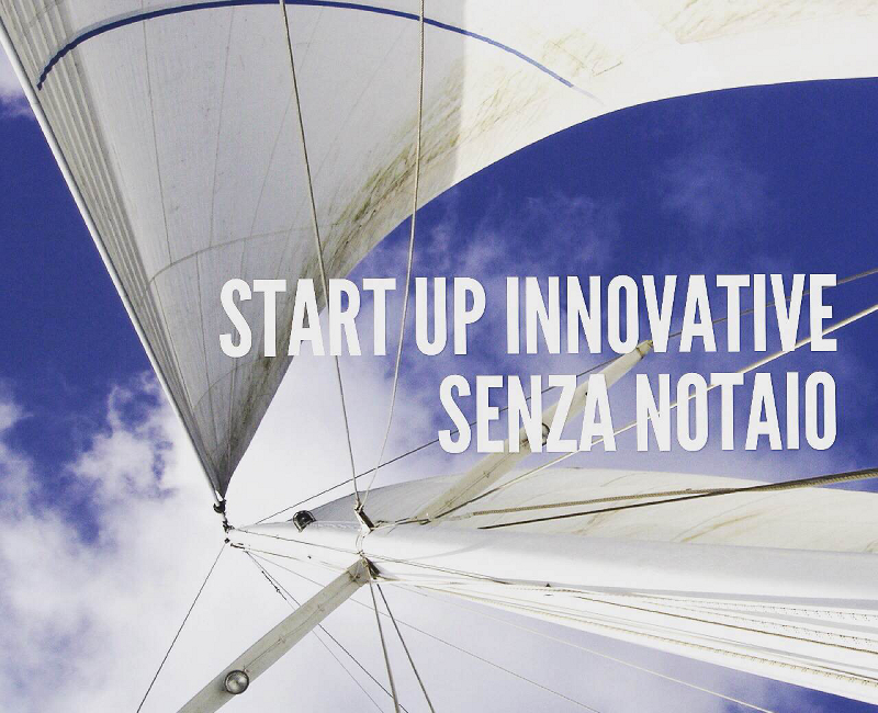 Start up innovative senza notaio