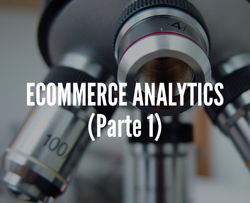 Ecommerce analytics (parte 1)