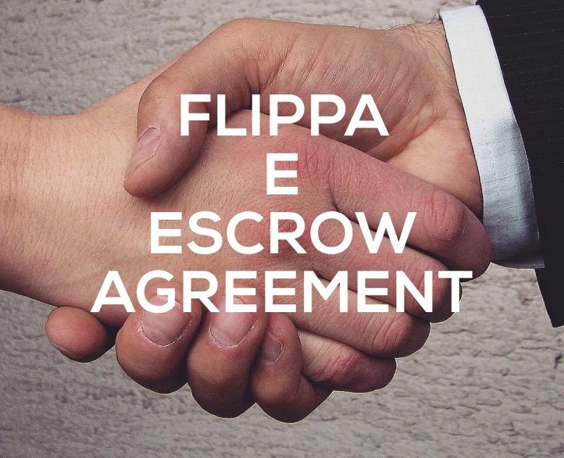Flippa ed il contratto di escrow